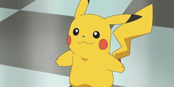 Pikachu in Pokemon anime