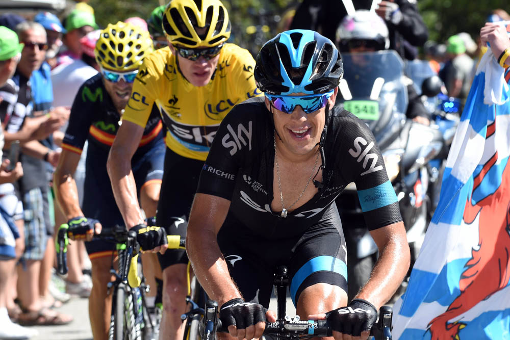 Chris froome offers grand tour advice to departing richie for Richie porte cyclist