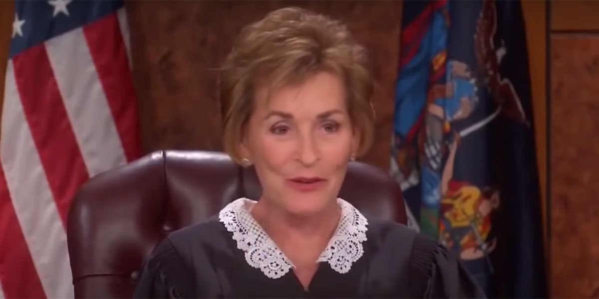 Judge Judy Took A Real Life Legal Loss In A Bitter Lawsuit