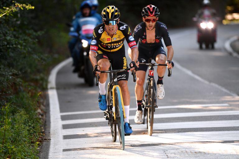 Primož Roglič riding Milano-Torino 2021
