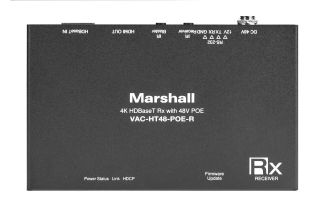 Marshall Electronics Releases New HDBaseT Receiver