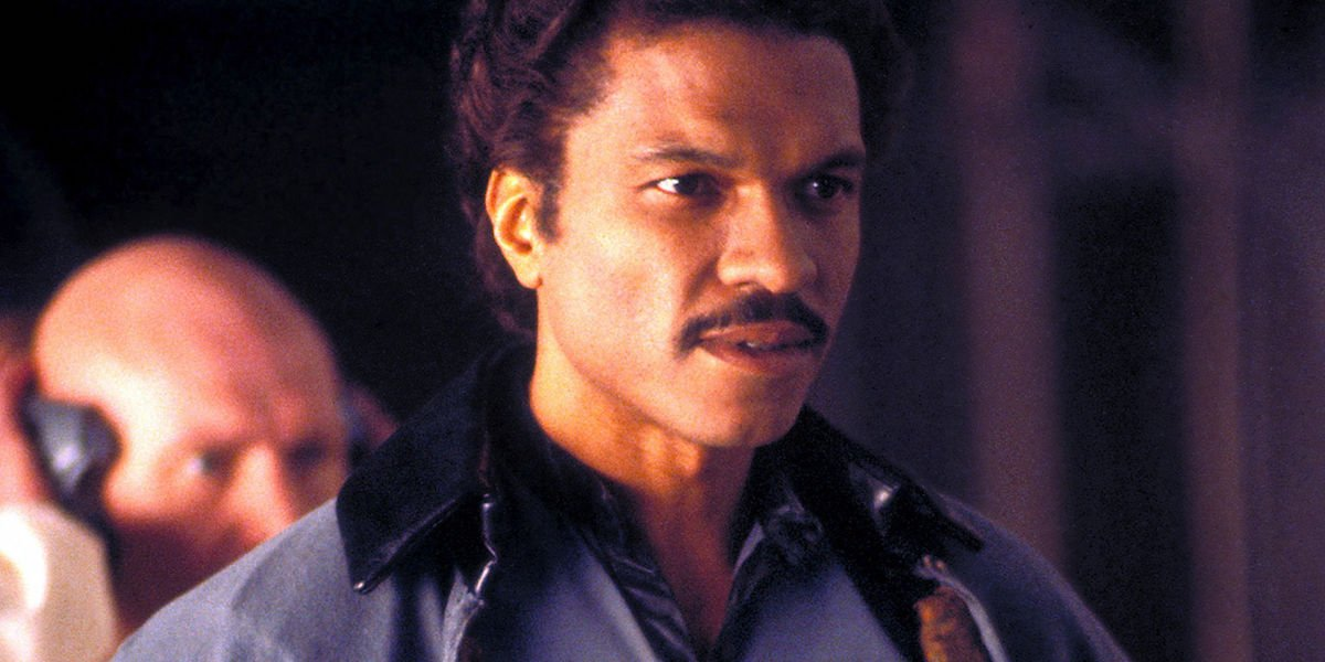 Billy Dee Williams as Lando Calrissian in Star Wars Empire Strikes Back
