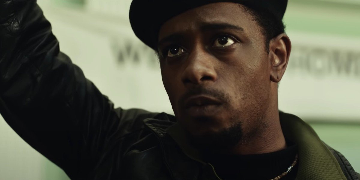 Lakeith Stanfield as William O'Neal in Judas and the Black Messiah