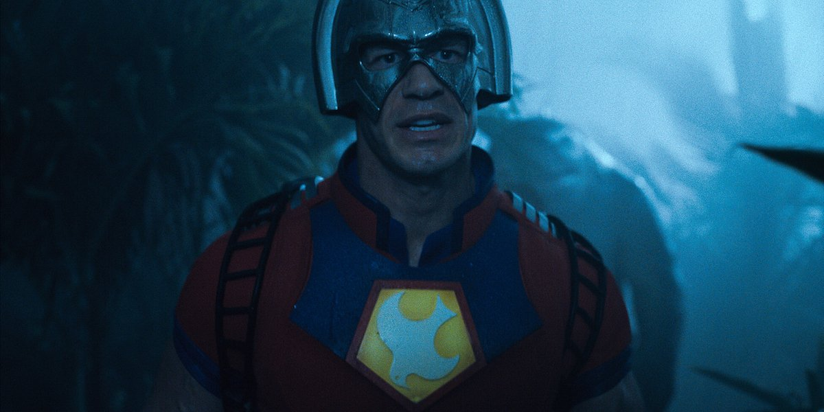 John Cena as Paacemaker in The Suicide Squad