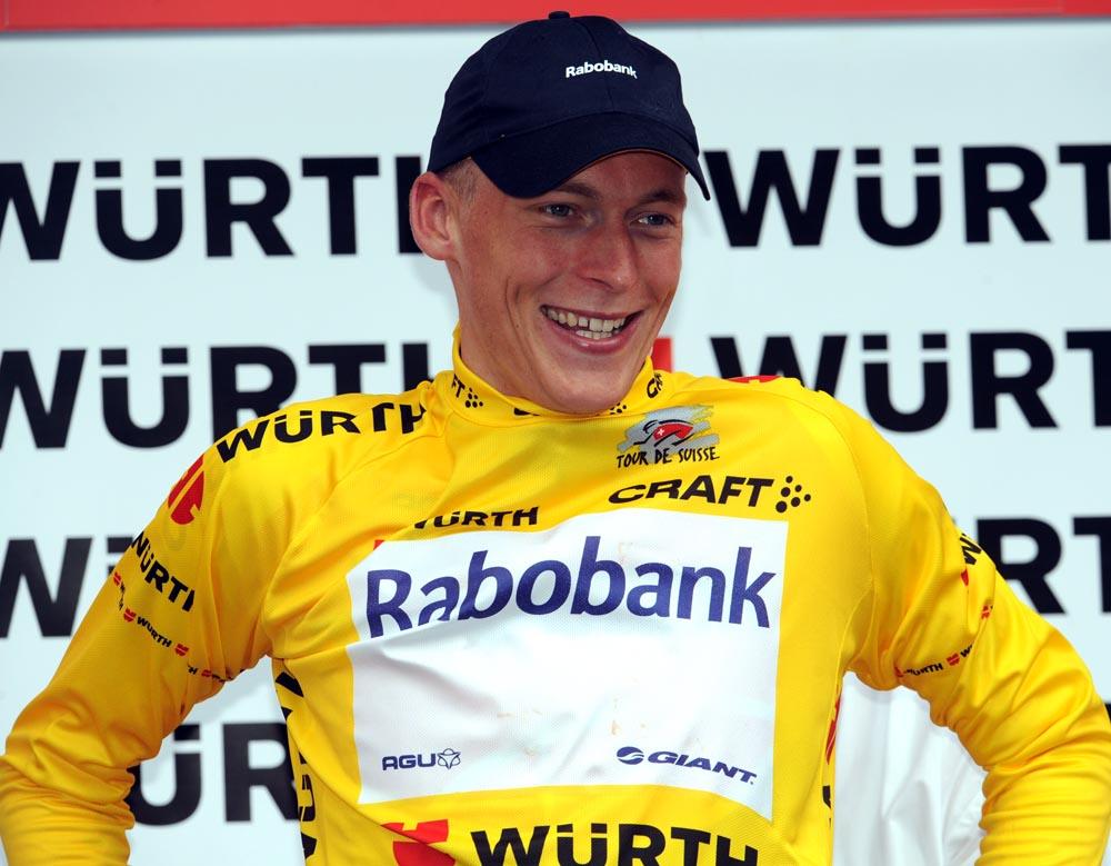 Robert Gesink, Tour de Suisse 2010, stage 8