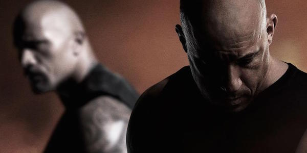 Vin Diesel vs The Rock Fate of the Furious