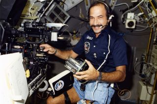 European Space Agency (ESA) Astronaut Wubbo Ockels