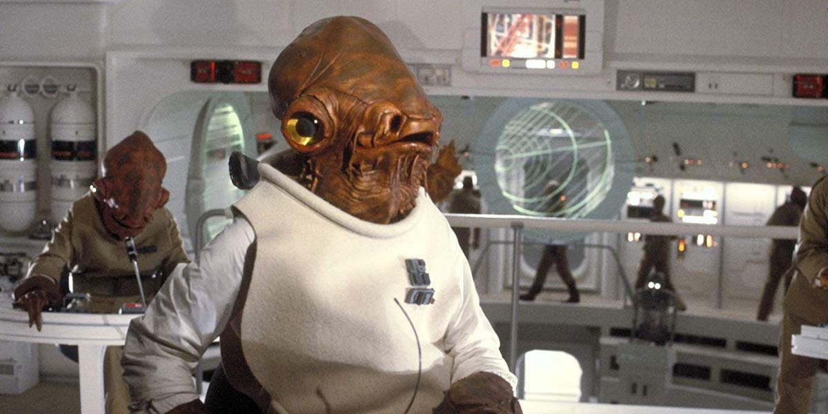 Admital Ackbar in Star Wars: Return of the Jedi