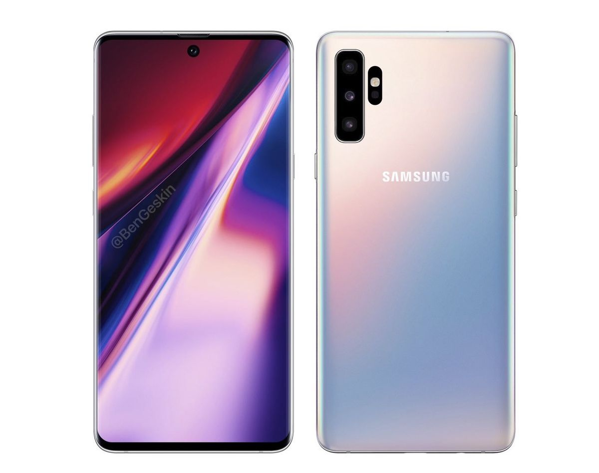 A Prominent Leaker Says This Is the Galaxy Note 10