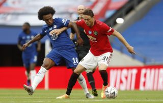 Manchester United v Chelsea – FA Cup – Semi Final – Wembley Stadium