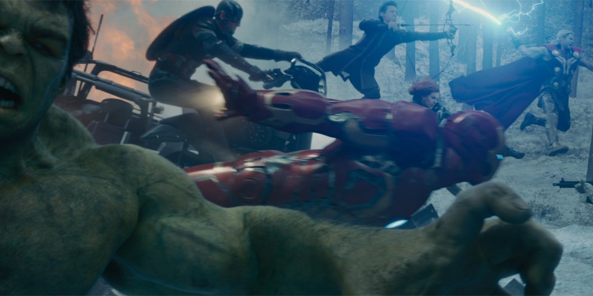 Avengers Age of Ultron team fights hydra