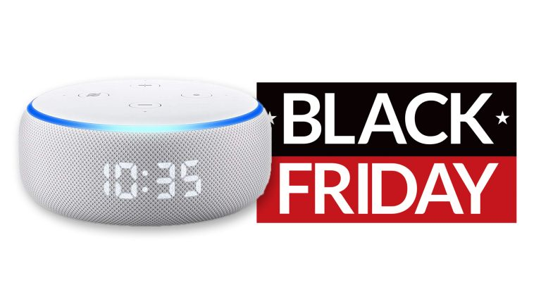 cheap Amazon Echo Dot with clock deal