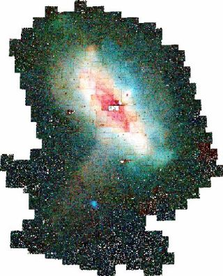 Andromeda Galaxy 3 Times Bigger than Thought