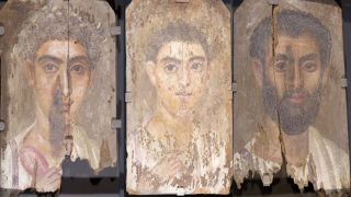 Roman Egyptian mummy portraits