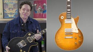 Neal Schon and his 1959 Gibson Les Paul