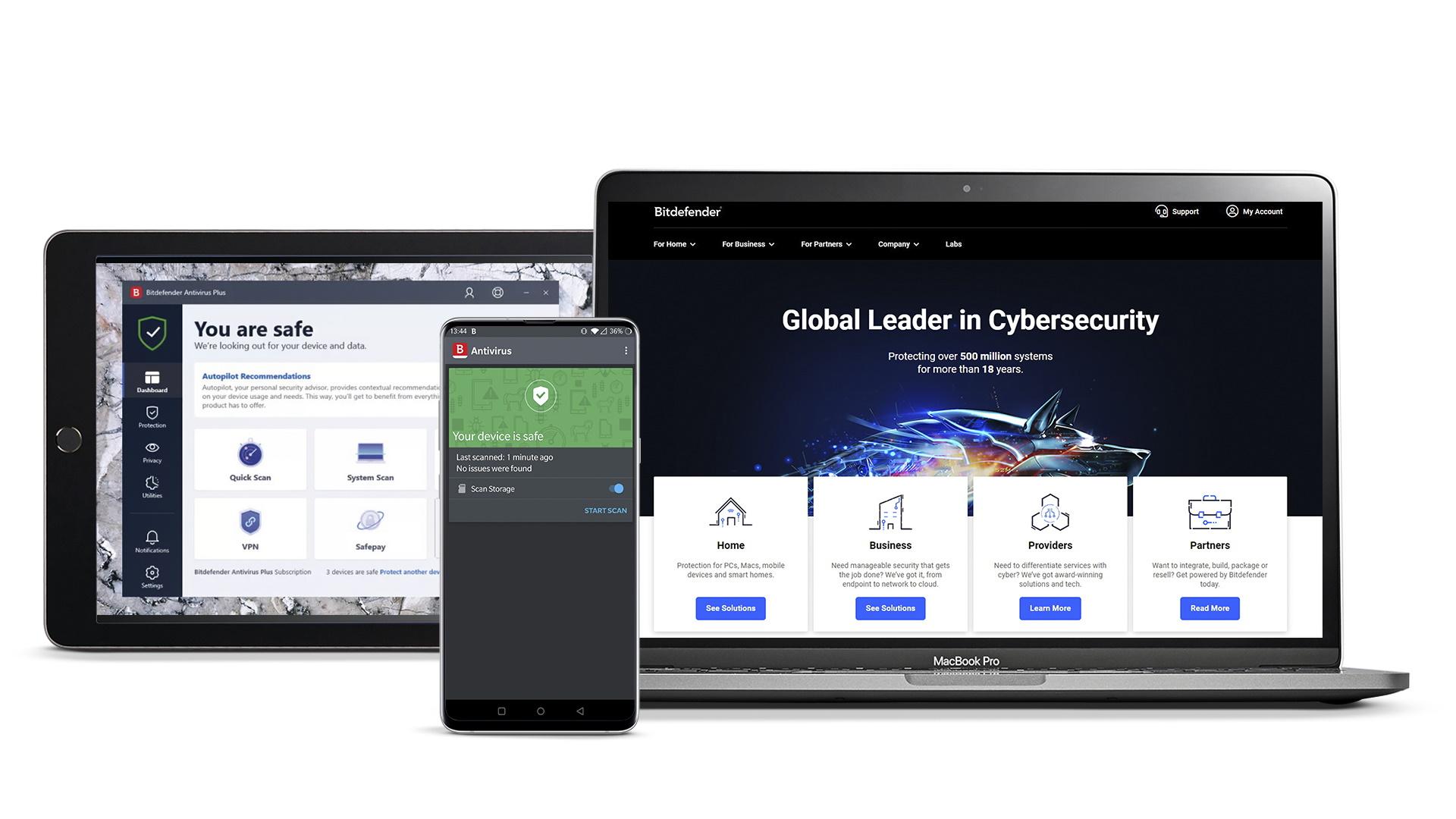 Bitdefender Antivirus solutions review | TechRadar