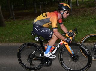 Bahrain McLaren's Mark Cavendish – pictured during the 2020 Scheldeprijs – could be looking for a new team for 2021