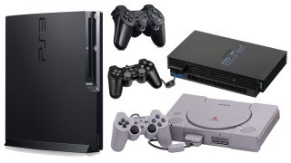 PlayStation 1, 2, 3