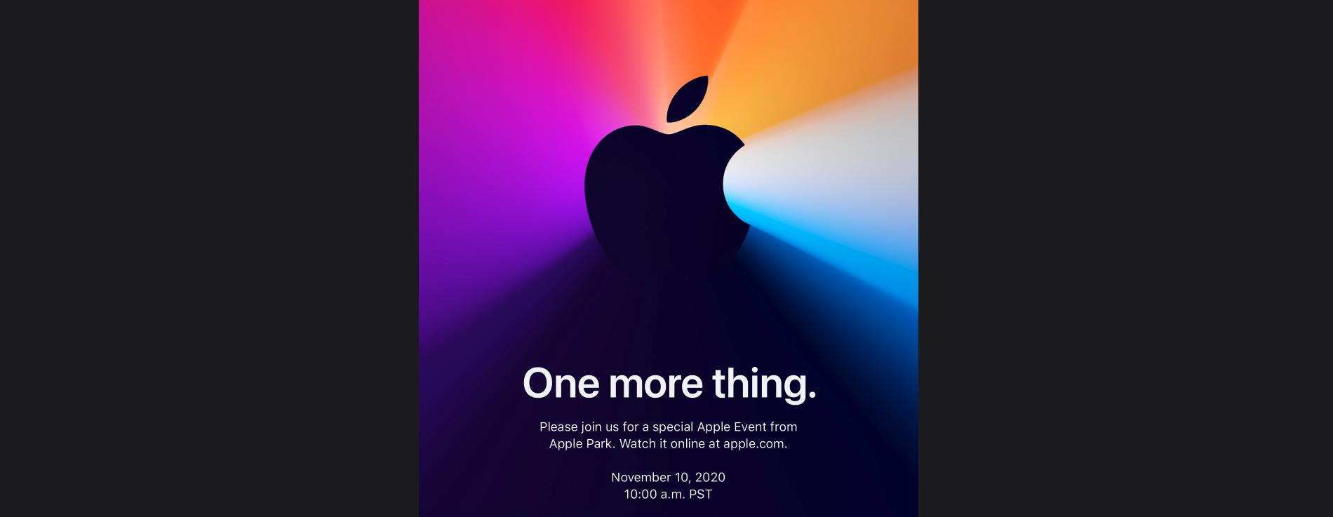 Apple Event November 2020
