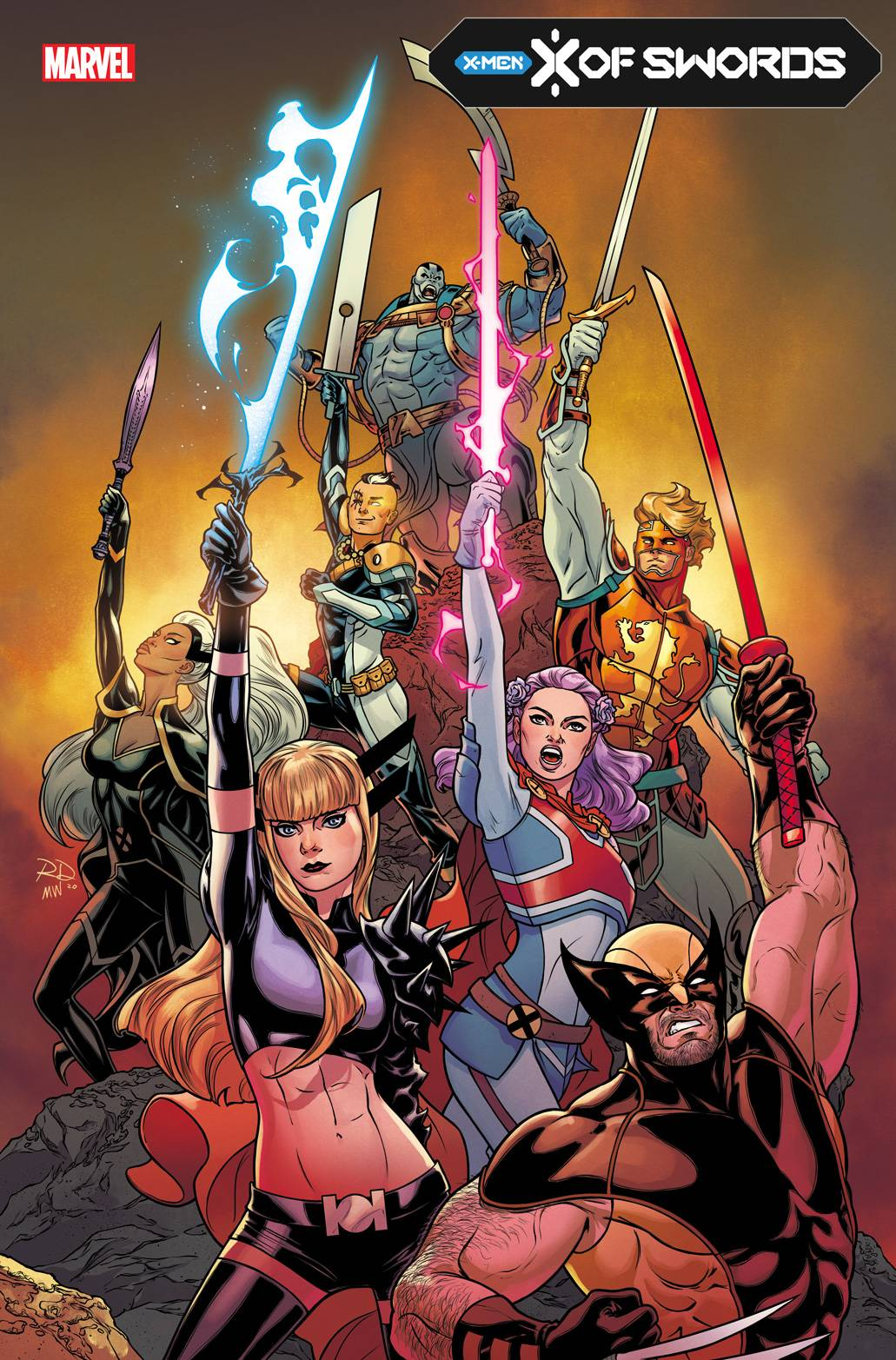 X-Men X of Swords event: story, cast, checklist, and everything else we  know | GamesRadar+