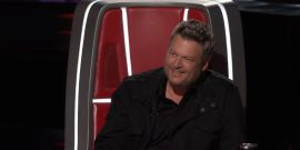 The Voice's Blake Shelton Says He'll Help Newbie Ariana Grande Out, But Of Course There's A Catch
