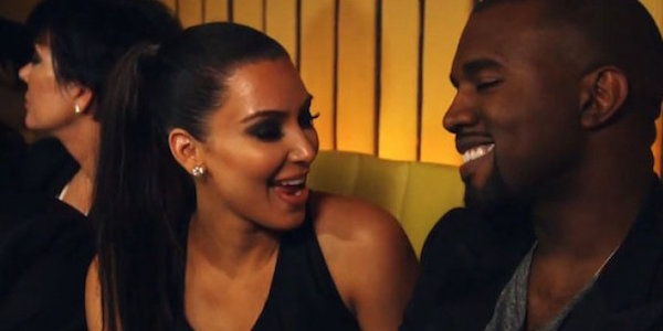 Kim Kardashian and Kanye West on Keeping Up With the Kardashians