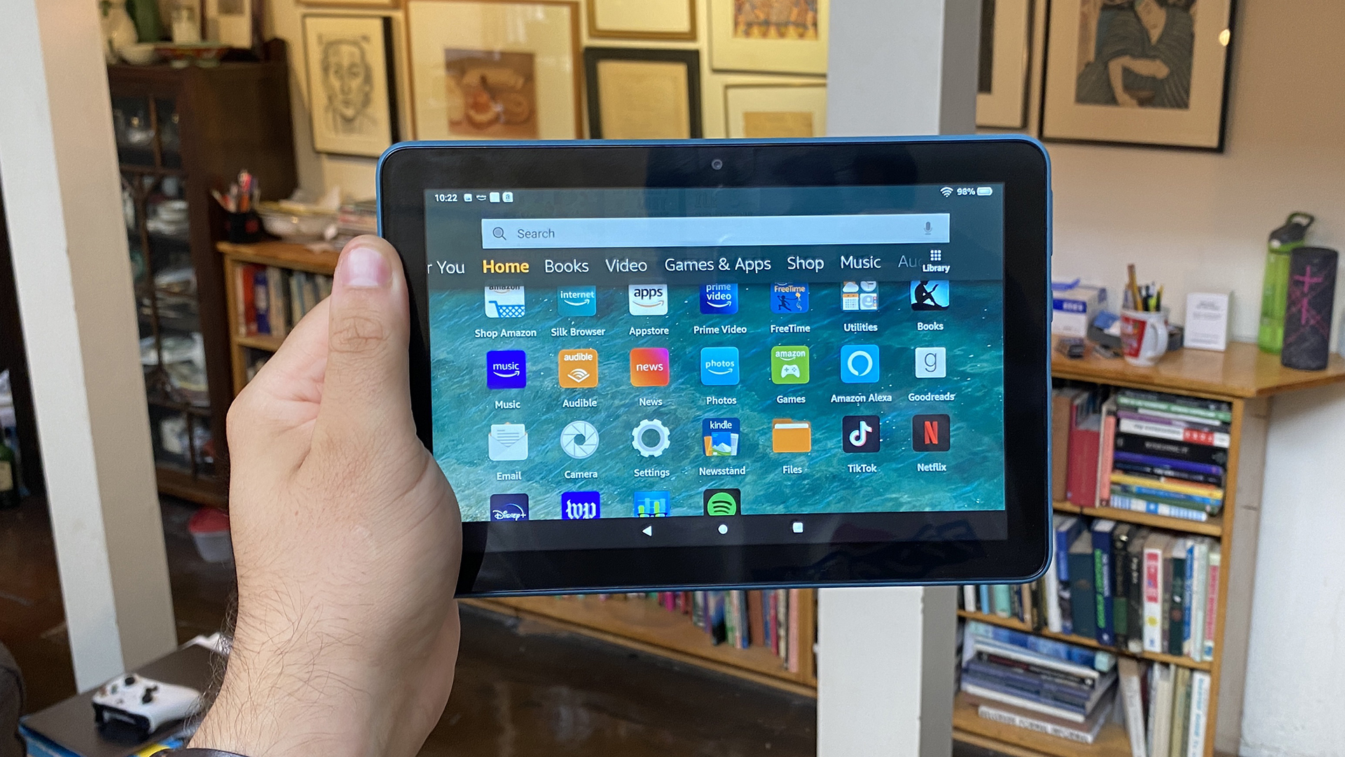 best android tablets - Amazon Fire HD 8 review