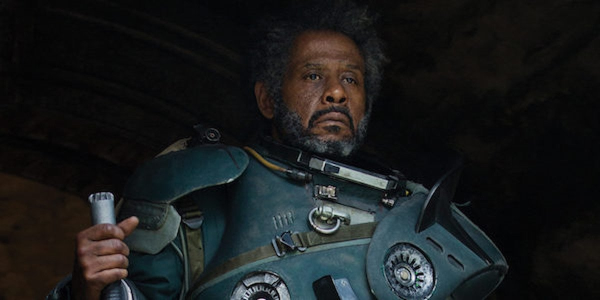 Forest Whitaker in Rogue One: A Star Wars Story.