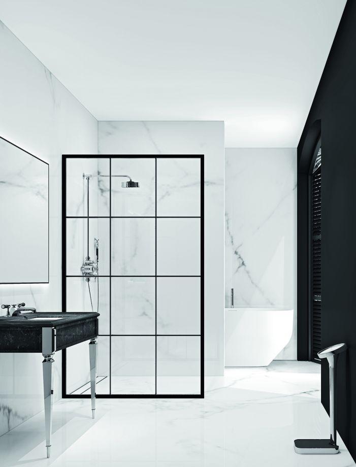 Modern Monochrome Bathroom Ideas: Black & White Bathroom ...