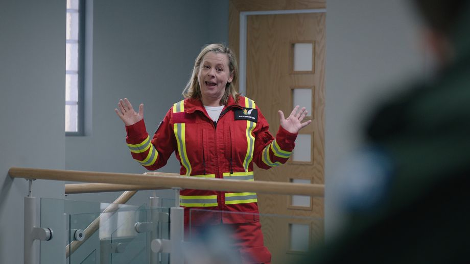 Dixie in Casualty