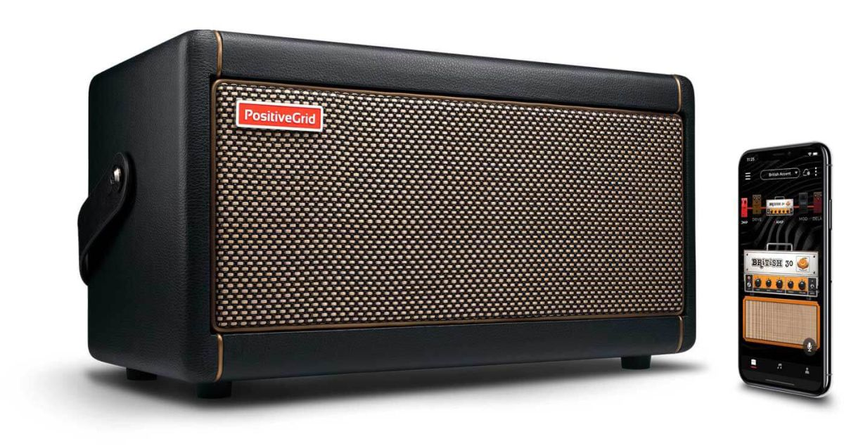Positive Grid launches the Spark guitar amp for jamming, learning songs and recording
