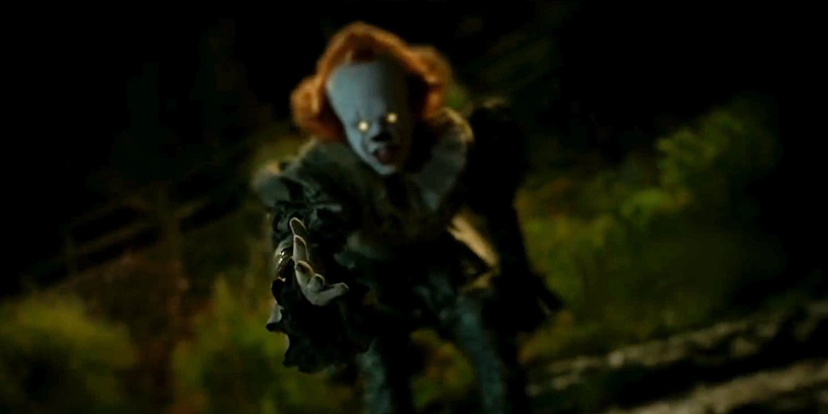 Pennywise tries to lure Adrian Mellon in IT Chapter Two