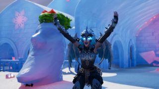 fortnite workshop shiver inn ice throne