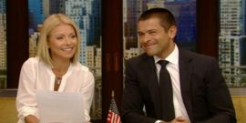 Mark Consuelos Fires Back After Haters Come After Kelly Ripa's Bikini Pic