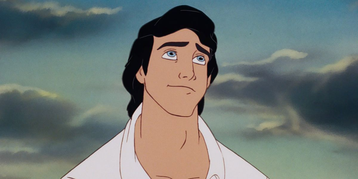 Prince Eric in the animated Little Mermaid