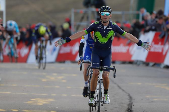 Alejandro Valverde (Movistar) wins stage 3 at Volta a Catalunya