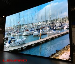 Leyard and LANG AG 8K Video Wall