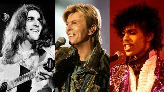 Glenn Frey, David Bowie, Prince