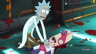 An image from Rick and Morty season 5