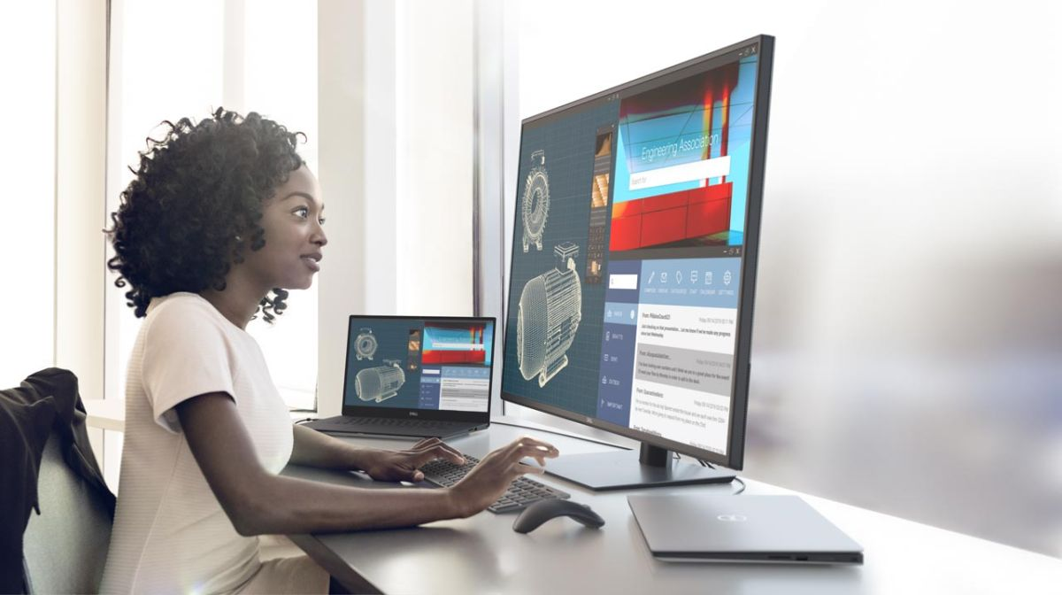 Dell is launching two huge new 4K monitors for the office or workplace
