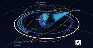Audacy constellation graphic