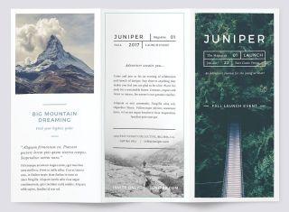 Best brochure templates Juniper