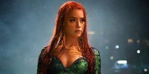 That Time Amber Heard's Aquaman 2 Workout Totally Got Interrupted By An Uninvited Guest