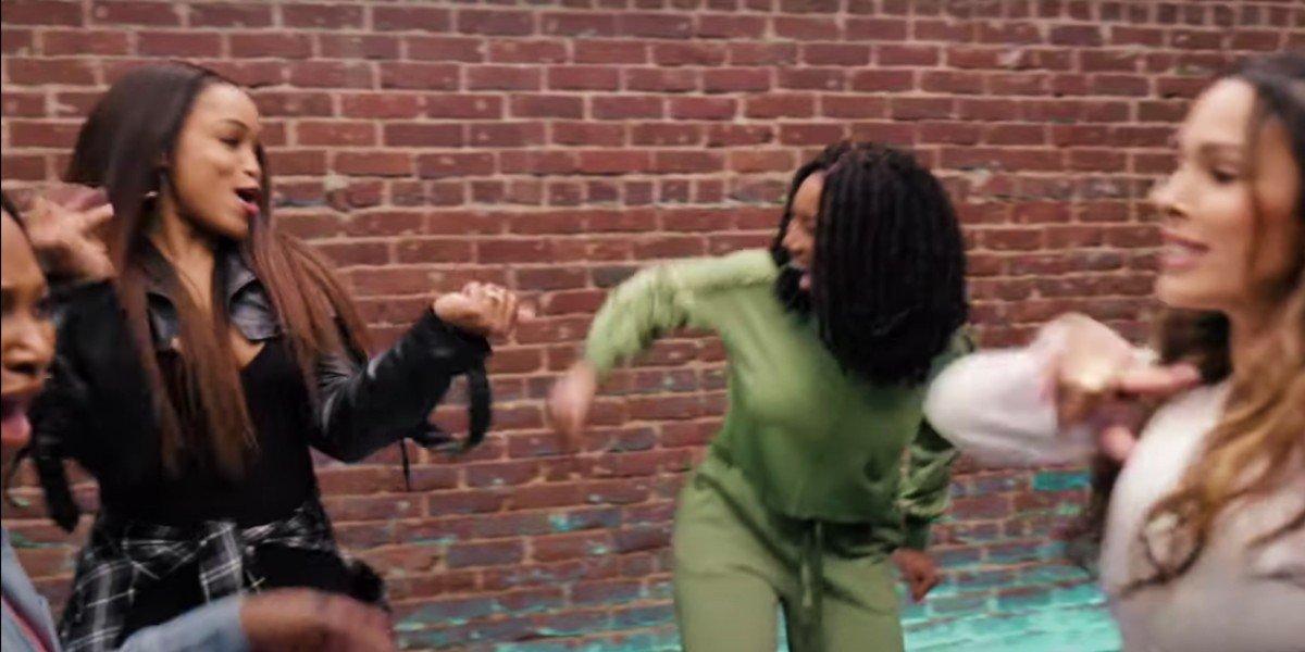 Eve, Brandy, Nadine Velazquez, and Naturi Naughton in Queens