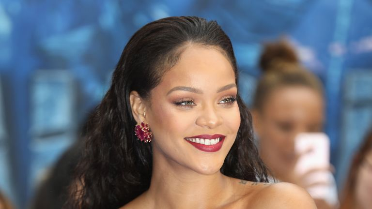"Rihanna attends the ""Valerian And The City Of A Thousand Planets"" European Premiere at Cineworld Leicester Square on July 24, 2017 in London, England"