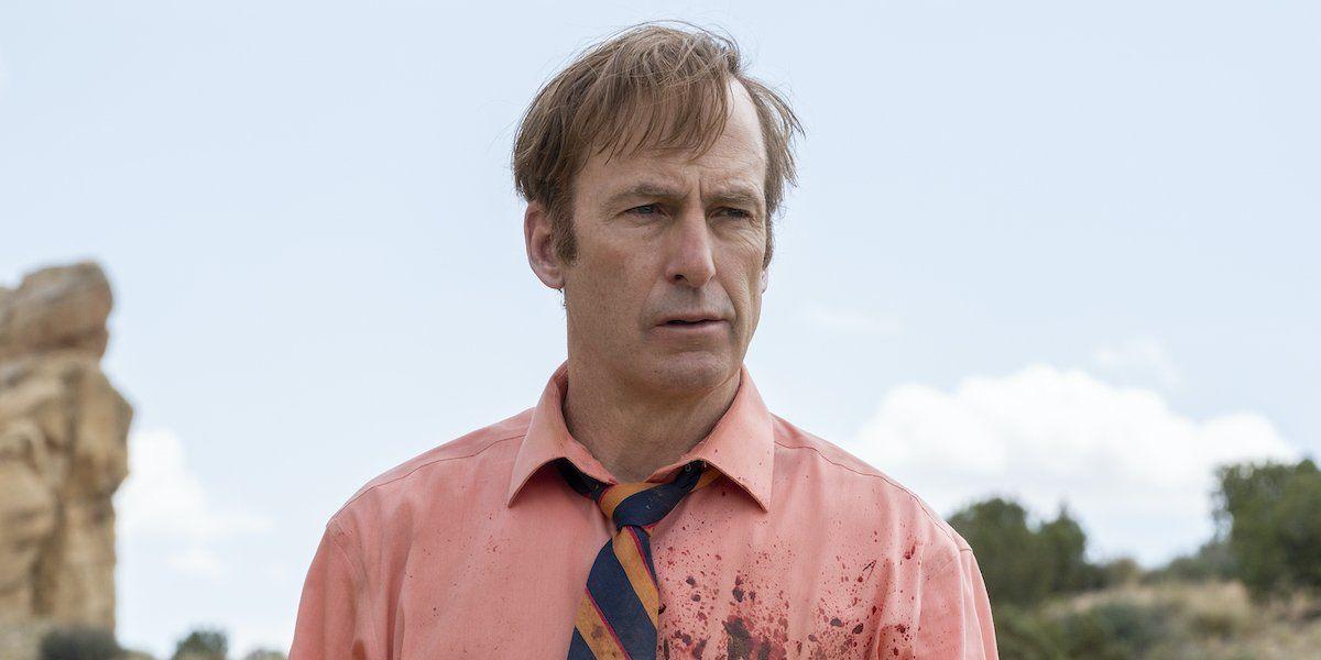 Bob Odenkirk as Saul Goodman in Better Call Saul.