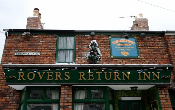 The Rovers Return Inn on the Corrie set