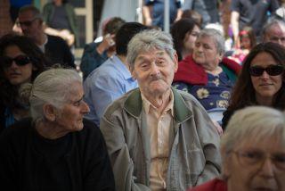 elderly men, dementia, psychotropic drugs
