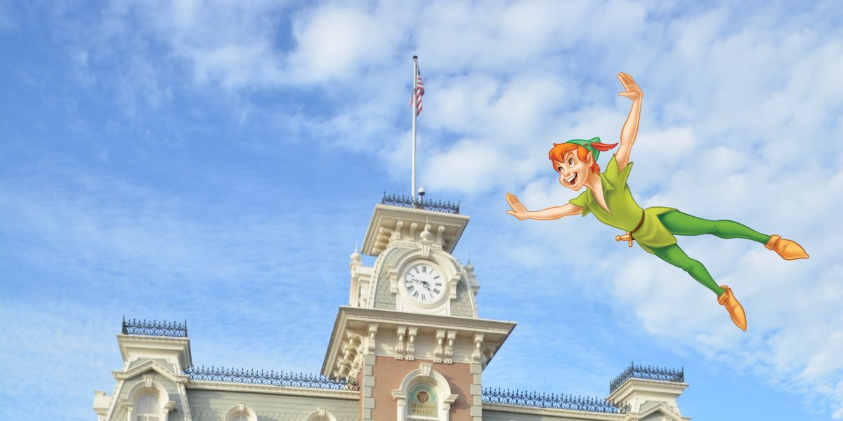 Walt Disney World PhotoPass image of Peter Pan