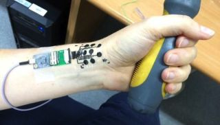 Flexible Electric Tattoo
